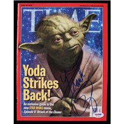 Frank Oz Signed 2002 Time Magazine (PSA COA)