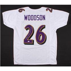 "Rod Woodson Signed Jersey Inscribed ""SB Champs"" (JSA COA)"