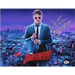 """Charlie Cox Signed """"Daredevil"""" 11x14 Photo Inscribed """"Daredevil"""" (PSA COA)"""