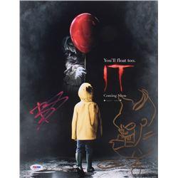 "Bill Skarsgard  Andy Muschietti Signed ""IT"" 11x14 Photo (PSA COA)"