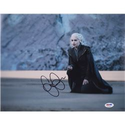"Emilia Clarke Signed ""Game of Thrones"" 11x14 Photo (PSA COA)"