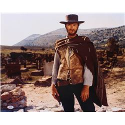 "Clint Eastwood Signed ""The Good, the Bad and the Ugly"" 16x20 Photo (PSA LOA)"