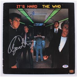 "Pete Townshend  Roger Daltrey Signed The Who ""It's Hard"" Vinyl Record Album (PSA Hologram)"