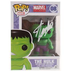 "Stan Lee Signed ""The Hulk"" #08 Funko Pop! Vinyl Bobble-Head Figure (Radtke COA  Lee Hologram)"