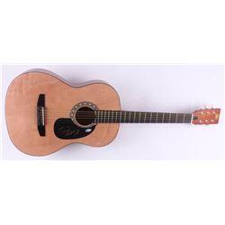 "Hank Williams Jr. Signed 38.5"" Acoustic Guitar (Beckett COA)"