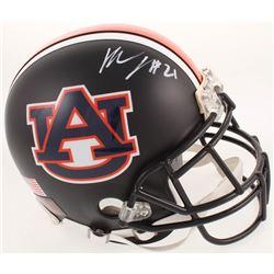Kerryon Johnson Signed Auburn Tigers Full-Size Custom Matte Black Authentic On-Field Helmet (Radtke