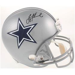 Troy Aikman Signed Dallas Cowboys Full-Size Helmet (Radtke COA)