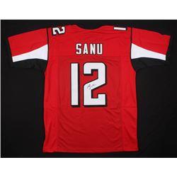 Mohamed Sanu Signed Jersey (JSA COA)