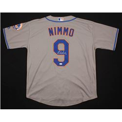 Brandon Nimmo Signed New York Mets Jersey (JSA COA)