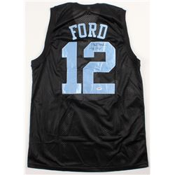 """Phil Ford Signed Jersey Inscribed """"78 POY"""" (PSA COA)"""