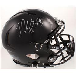 Nick Bosa Signed Ohio State Buckeyes Full-Size Authentic On-Field Speed Helmet (Radtke COA)