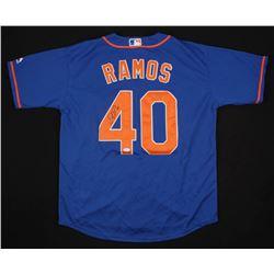 Wilson Ramos Signed New York Mets Jersey (JSA COA)