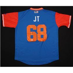 Jeff McNeil Signed New York Mets Jersey (JSA COA)