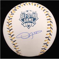 Dexter Fowler Signed 2016 All-Star Game Baseball (JSA COA)