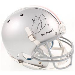 "Marshon Lattimore Signed Ohio State Buckeyes Full-Size Helmet Inscribed ""Go Bucks!"" (Radtke COA)"