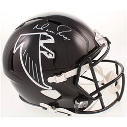 Matt Ryan Signed Atlanta Falcons Full-Size Throwback Speed Helmet (Fanatics Hologram)