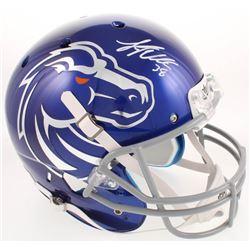 Leighton Vander Esch Signed Boise State Broncos Full-Size Helmet (Radtke COA)