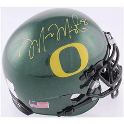 Marcus Mariota Signed Oregon Ducks Mini Helmet (JSA COA  Mariota Hologram)
