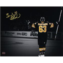 Brad Marchand Signed Boston Bruins 16x20 Photo (Marchand COA)
