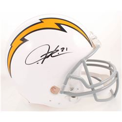 LaDainian Tomlinson Signed Los Angeles Chargers Throwback Full-Size Authentic On-Field Helmet (Radtk