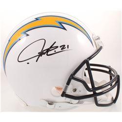 LaDainian Tomlinson Signed San Diego Chargers Full-Size Authentic On-Field Helmet (Radtke COA)