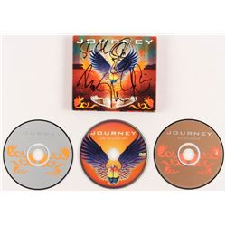 """Journey """"Revelation"""" CD Album Signed by (5) With Neal Schon, Steve Smith, Jonathan Cain, Ross Valory"""
