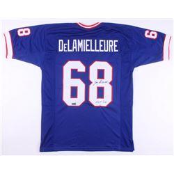"""Joe DeLamielleure Signed Jersey Inscribed """"HOF '03"""" (JSA Hologram  RSA COA)"""