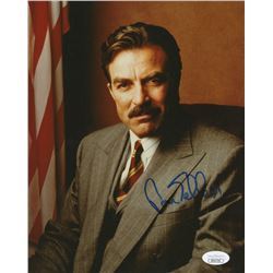 "Tom Selleck Signed ""Blue Bloods"" 8x10 Photo (JSA COA)"