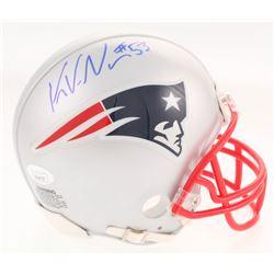 Kyle Van Noy Signed New England Patriots Mini Helmet (JSA COA)
