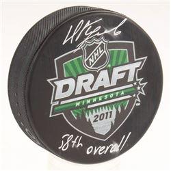 "Nikita Kucherov Signed 2011 NHL Draft Logo Hockey Puck Inscribed ""58th Overall"" (JSA COA  Your Sport"