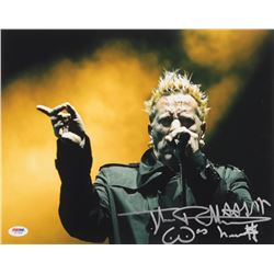 Johnny Rotten Signed 11x14 Photo with Inscription (PSA COA)