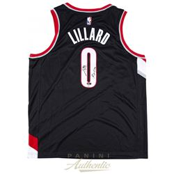 "Damian Lillard Signed LE Portland Trail Blazers Nike Jersey Inscribed "" RIP City"" (Panini COA)"