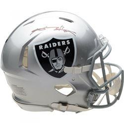 Antonio Brown Signed Oakland Raiders Full-Size Authentic On-Field Speed Helmet (Fanatics Hologram)