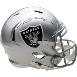 Antonio Brown Signed Oakland Raiders Full-Size Speed Helmet (Fanatics Hologram)