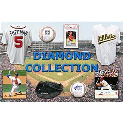 Baseball Diamond Collection Mystery Box – Series 3 (3 Autograph Baseball Collectibles Per Box)