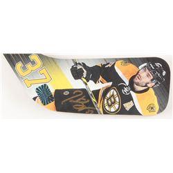 "Patrice Bergeron Signed Boston Bruins 24"" Mini Hockey Stick (Your Sports Memorabilia Store COA)"