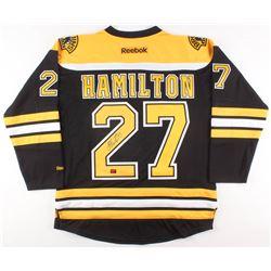 Dougie Hamilton Signed Boston Bruins Jersey (Your Sports Memorabilia Store COA)