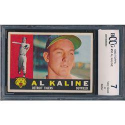 1960 Topps #50 Al Kaline (BCCG 7)