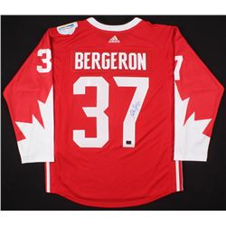 Patrice Bergeron Signed Team Canada 2016 World Cup of Hockey Jersey (Your Sports Memorabilia Store C