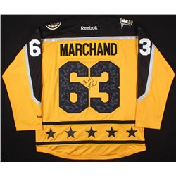 Brad Marchand Signed 2017 All-Star Game Jersey (Your Sports Memorabilia Store COA)