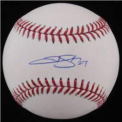 Trevor Story Signed OML Baseball (JSA COA)