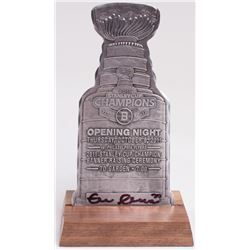 Zdeno Chara Signed 2011 Stanley Cup Trophy Cutout (Chara COA)