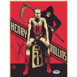 Henry Rollins Signed 8x10 Photo (PSA COA)