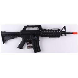 "Jon Bernthal Signed Full-Size ""Punisher"" Replica Assault Rifle Airsoft Gun with Hand-Drawn Punisher"
