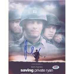 "Matt Damon Signed ""Saving Private Ryan"" 8.5x11 Photo (PSA COA)"