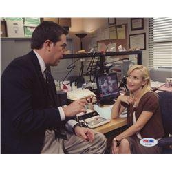 "Ed Helms Signed ""The Office"" 8x10 Photo (PSA COA)"
