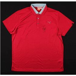 Rickie Fowler Signed PUMA Golf Shirt (PSA COA)