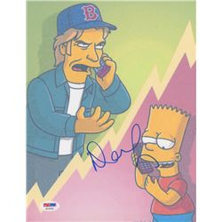 """Denis Leary Signed """"The Simpsons"""" 8.5x11 Photo (PSA COA)"""