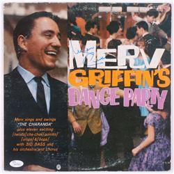"""Merv Griffin Signed """"Merv Griffin's Dance Party"""" Vinyl Record Album (JSA Hologram)"""