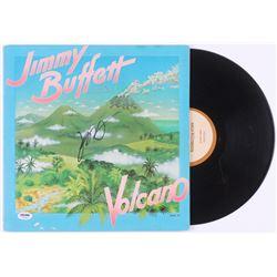"Jimmy Buffett Signed ""Volcano"" Vinyl Record Album (PSA COA)"
